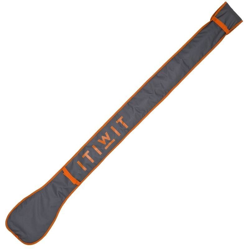 HOUSSE PAGAIE STAND UP PADDLE GRISE ORANGE