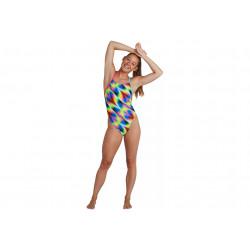 Speedo Allover Tie-Back W vêtement running femme