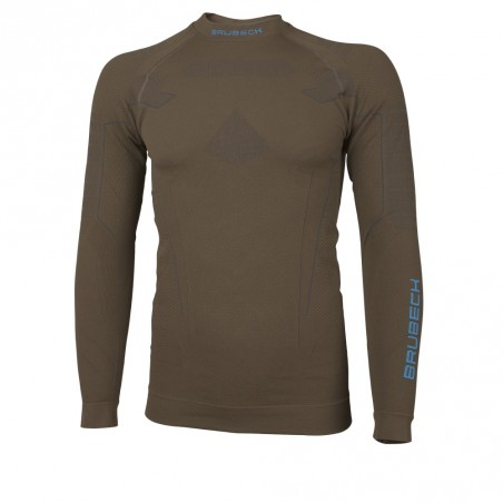 Sweat Shirt manches longues techniques Homme THERMO BRUBECK