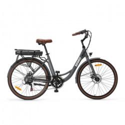 Vélo de ville électrique 26'' - Surpass - 6 vitesses Shimano - Freins à disque