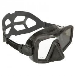 Masque de chasse et d'apnée APNEA MONOGLASS noir
