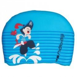 """Planche de natation bleu à battements enfant avec imprimé """"pirate"""""""