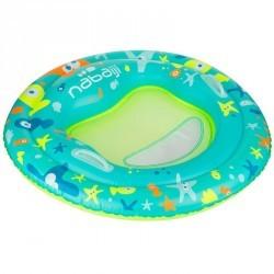 Plate forme d'éveil aquatique TINOA, bleue pour les bébés de 6 à 24 mois.