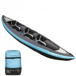 CANOE KAYAK GONFLABLE 2/3 PLACES BLEU