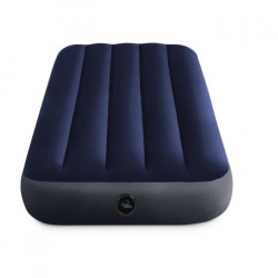 Intex - Matelas gonflable, camping, 137x 191 x 25 cm Downy Classic 2 Places