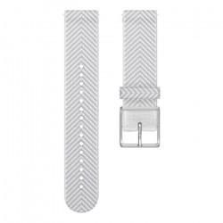 POLAR Bracelet interchangeable IGNITE Blanc chevron M/l