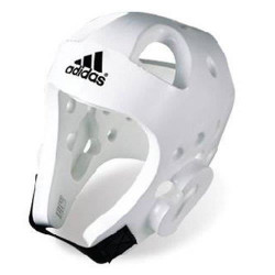 Casque Taekwondo Adidas CompétitionS - Blanc S