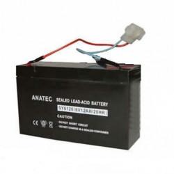 ANATEC Batterie au Plomb 6V/12A
