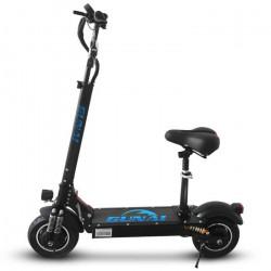 GUNAI Scooter électrique 10 pouces Scooter pliable 2000W double moteur 52V 23.6Ah batterie au lithium