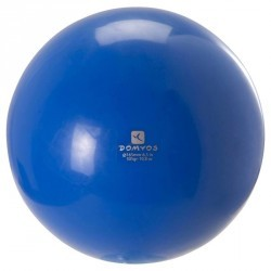 Ballon de Gymnastique Rythmique 165 mm bleu
