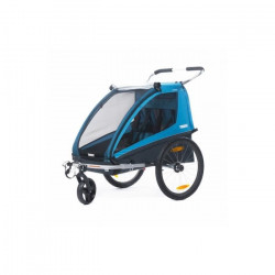 THULE Remorque à vélo Coaster2 XT - Bleu