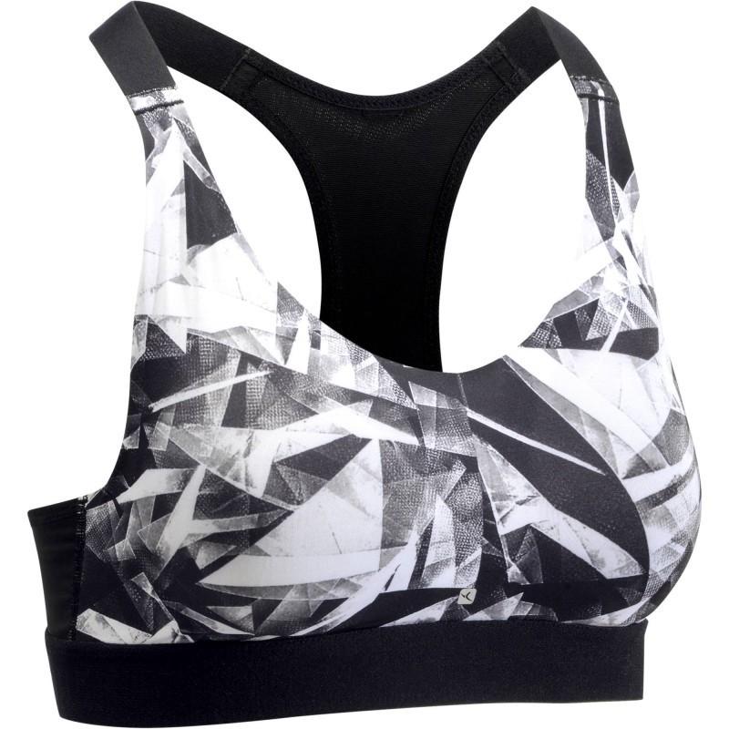 Avis   test - Brassière fitness cardio femme imprimés géométriques ... c0234d4e917