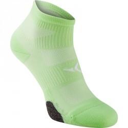 Chaussettes basses fitness x2 vert