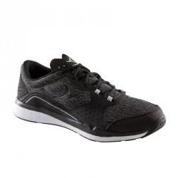 Chaussures fitness cardio 500 homme noir et gris