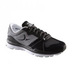 Chaussures fitness cardio 500 femme noir et blanc