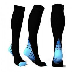 Chaussettes de compression unisexe Chaussettes de course athlétiques Fit Boost Stamina BU-L-HSW70706454BUL_1234