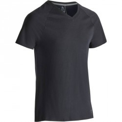 T-shirt 900 slim Gym & Pilates homme noir