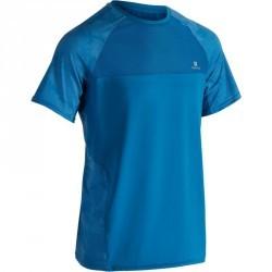 T-shirt fitness cardio homme BLEU FTS 500