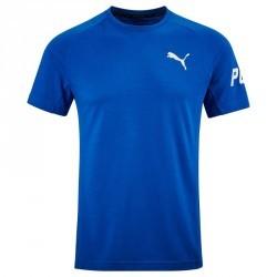 T-shirt PUMA Gym & Pilates homme bleu Active