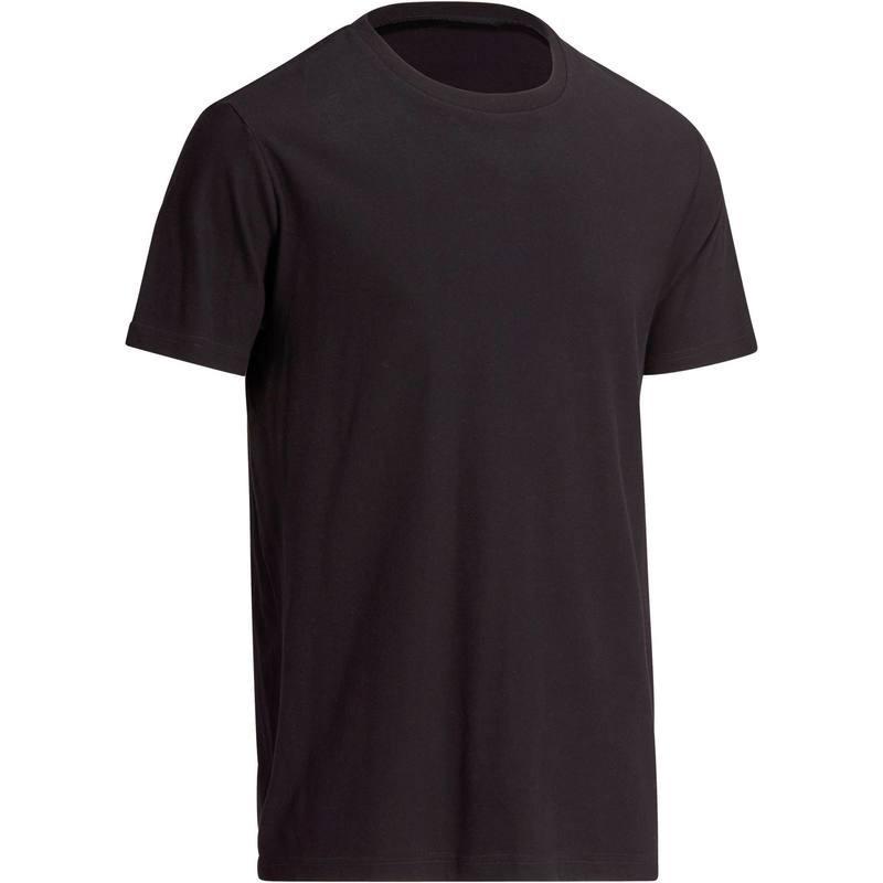 T-Shirt Gym & Pilates homme noir Sportee