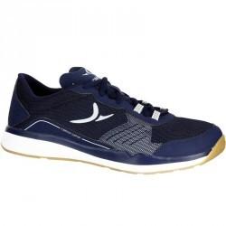 Chaussures fitness cardio 500 homme bleu et gris
