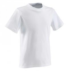 Tee shirt fitness garçon blanc