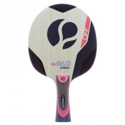 BOIS DE TENNIS DE TABLE ARTENGO FW 960 OFF SPEED CARBON ROSE