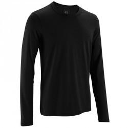 T-Shirt manches longues Gym & Pilates homme noir
