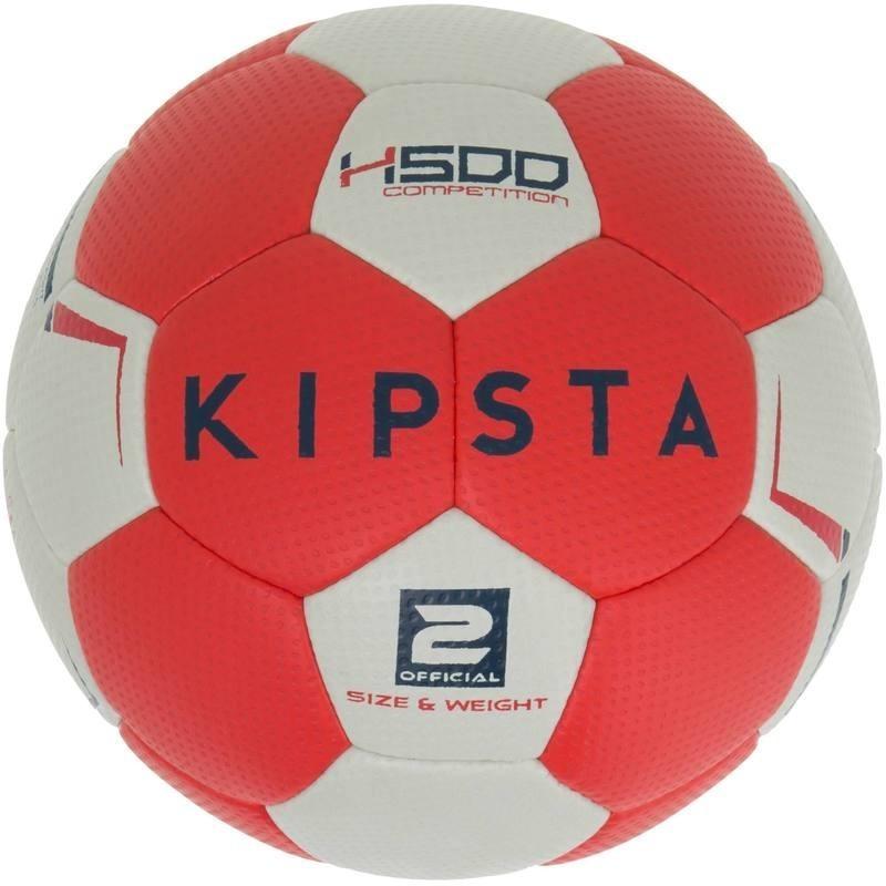 Avis   test - Ballon de handball hybride H500 Taille 2 rouge et gris ... 09d44d379bf