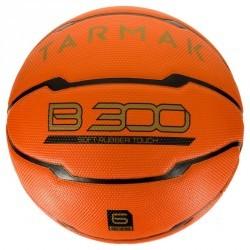 Ballon de basket femme B300 taille 6 orange. Pour débuter. A partir de 10 ans.