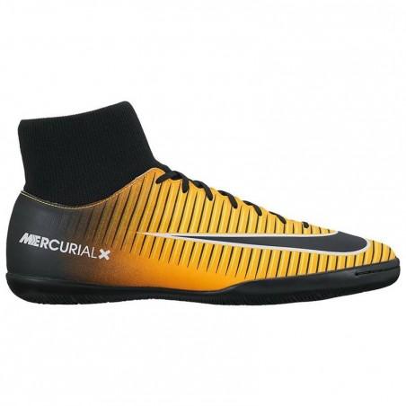 Chaussure de football adulte Mercurial Victory X sala orange