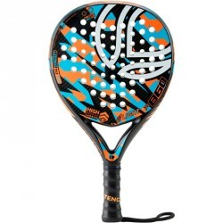 Raquette de padel PR860 light orange et bleue