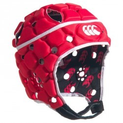 Casque rugby adulte Ventilator rouge