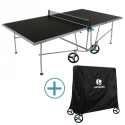 TABLE DE PING PONG FT 750 OPE OUTDOOR + HOUSSE OFFERTE.