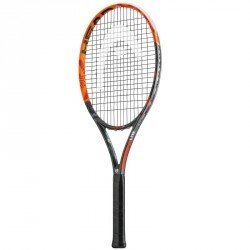 RAQUETTE DE TENNIS RADICAL LITE ORANGE ET NOIRE