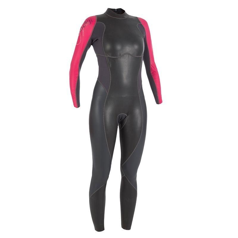 Combinaison néoprène nage eau libre OWSwim 1/0mm femme eau temperé