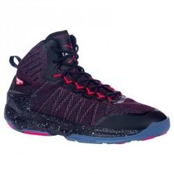 Chaussure de Basketball adulte confirmé/expert  Homme/Femme Shield 500 rouge noi