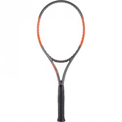 RAQUETTE DE TENNIS WILSON BURN 100 LS GRIS ORANGE