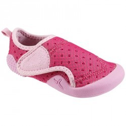 Chaussons Bébé Gym BABYLIGHT rose fuschia