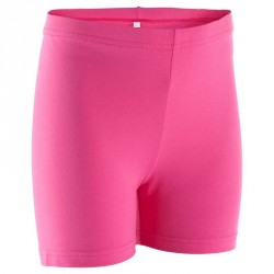 Short Gym fille rose