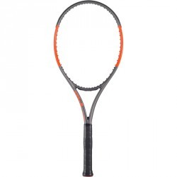 RAQUETTE DE TENNIS WILSON BURN 100 ULS GRIS ORANGE