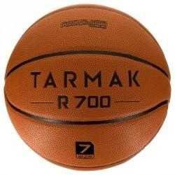Ballon de basket adulte R700 Deluxe taille 7 orange. Increvable et super grip.