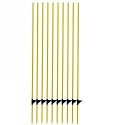 Piquets fibre de verre pour clôture équitation X10