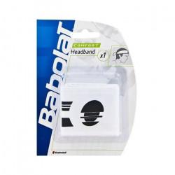 BABOLAT - BABOLAT HEADBAND WHITE - 45S1100101 - (Taille unique adulte)