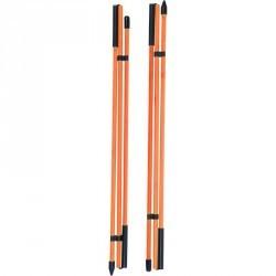 Bâtons d'alignement X2 Orange
