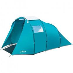 BESTWAY - Tente Familiale 4 Personnes - Family Dome 4 Pavillo - 1 Chambre + 1 Salon  - Imperméabilité 2000mm