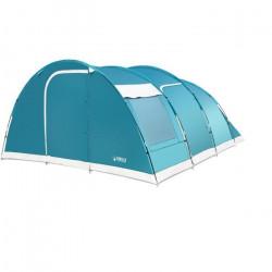 BESTWAY - Tente Familiale 6 Personnes - Family Dome 6 Pavillo - 2 Chambres + 1 Salon - Imperméabilité 3000mm