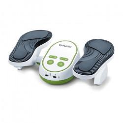 Beurer Stimulateur de circulation EMS FM 250 Vital Legs Blanc