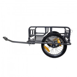 Remorque marchandise en acier pliable - charge maximale 30kg
