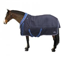 Couverture écurie équitation poney cheval ST400 bleu marine
